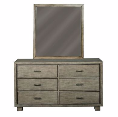 Picture of Arnett - Gray Dresser & Mirror