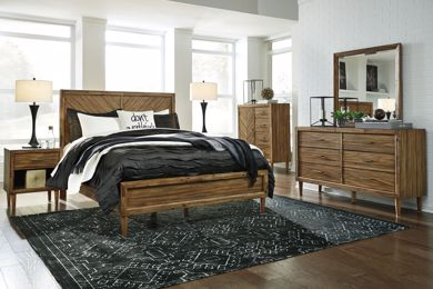 Picture of Broshtan - Queen Panel Bed