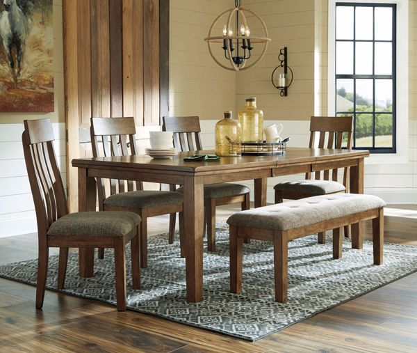 Picture of Flaybern - Table with 4 Chairs & Bench