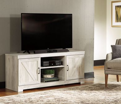 Picture of Bellaby - White X-Large TV Stand