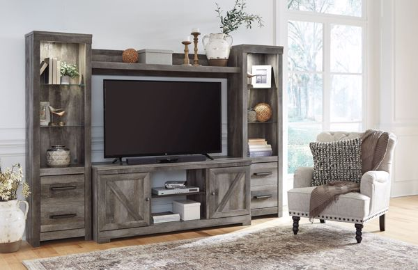 Picture of Wynnlow - Gray Entertainment Center