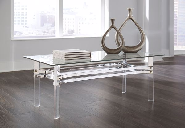 Picture of Braddoni - Chrome Cocktail Table