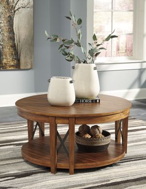 Picture of Emilander - Round Cocktail Table