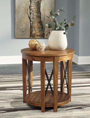 Picture of Emilander - Round End Table