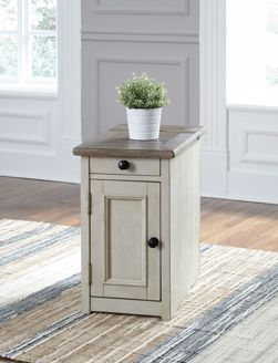 Picture of Bolanburg - 2 Tone Chairside Table