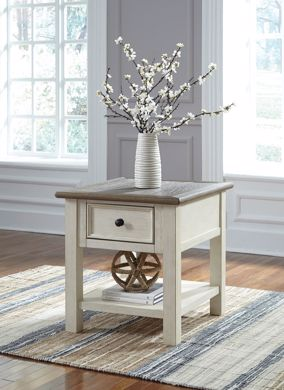Picture of Bolanburg - 2 Tone End Table