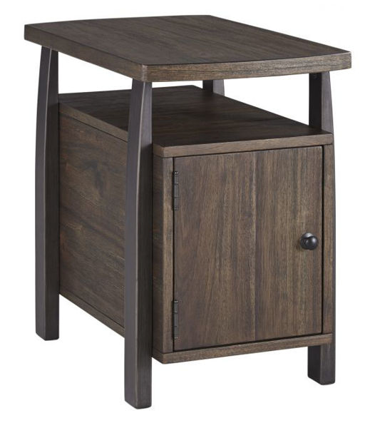 Picture of Vailbry - Brown Chairside Table