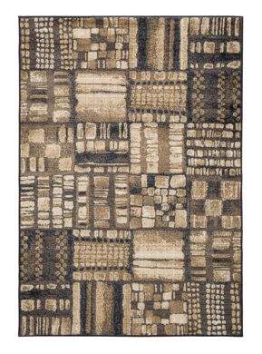 Picture of Hillard - Black/Brown 8x10 Rug