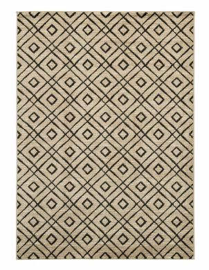 Picture of Jui - Brown/Cream 8x10 Rug