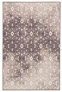 Picture of Jerilyn - Gray/White 4x7 Rug