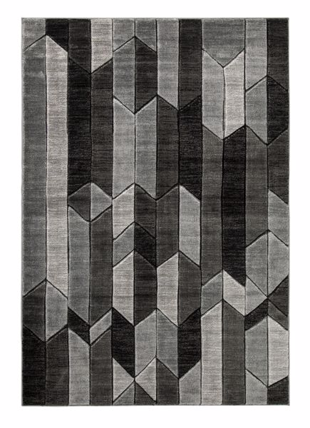 Picture of Chayse - Black/Gray 7x10 Rug