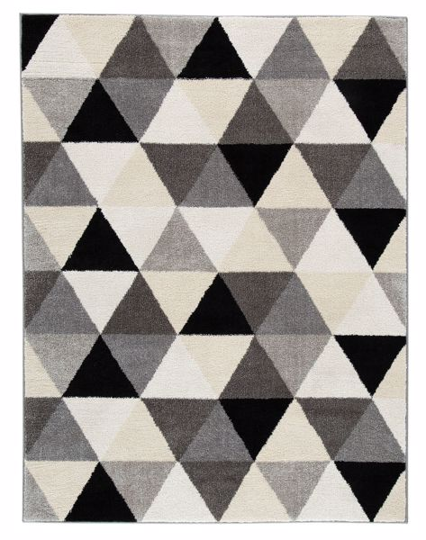 Picture of Jamaun - Black/Cream Rug