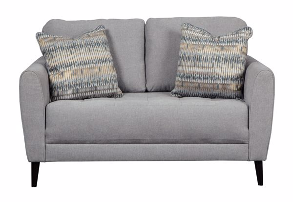 Picture of Cardello - Pewter Loveseat