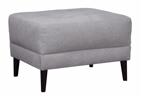 Picture of Cardello - Pewter Ottoman
