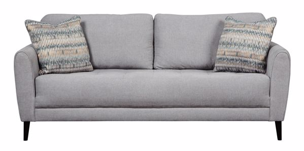 Picture of Cardello - Pewter Sofa