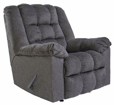 Picture of Drakestone - Charcoal Recliner