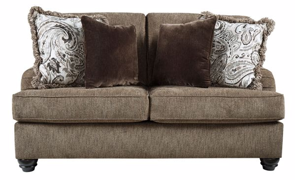 Picture of Braemar - Brown Loveseat