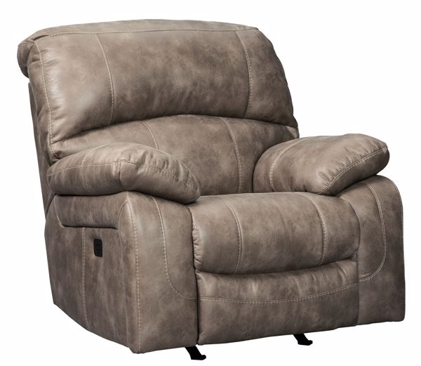Picture of Dunwell - Driftwood Power Recliner