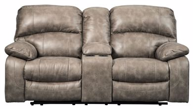 Picture of Dunwell - Driftwood Power Reclining Loveseat