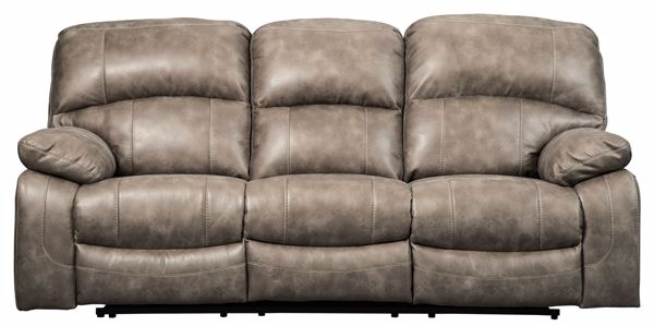 Picture of Dunwell - Driftwood Power Reclining Sofa