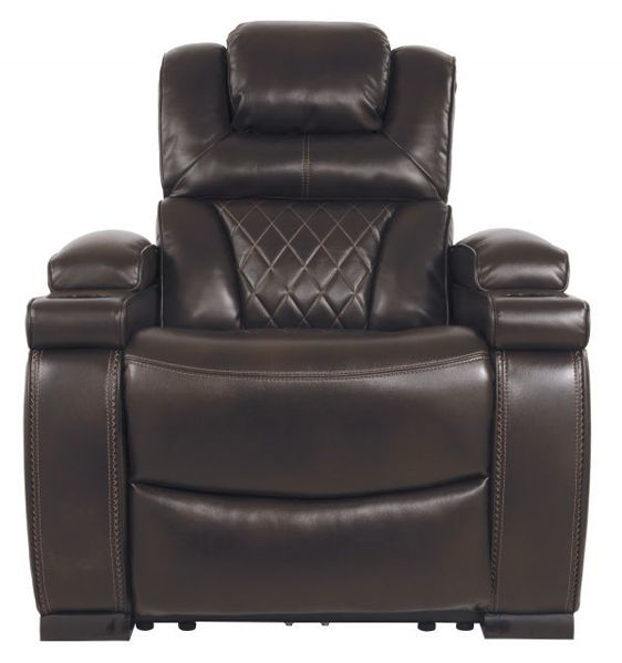 Picture of Warnerton - Chocolate Power Recliner