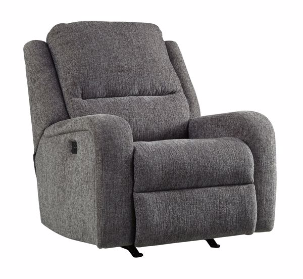 Picture of Krismen - Charcoal Power Recliner