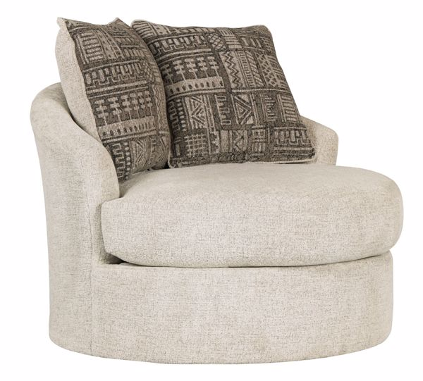 Picture of Soletren - Stone Swivel Chair