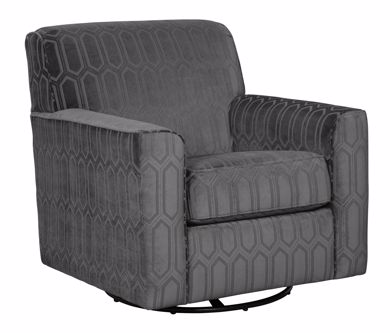 Picture of Zarina - Graphite Swivel Chair