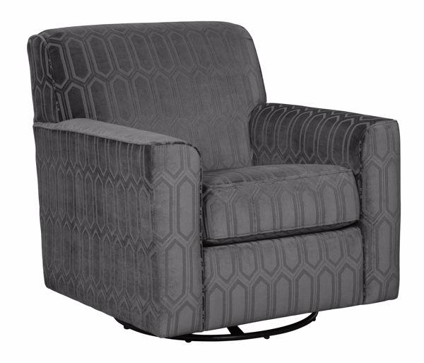 Picture of Zarina - Graphite Swivel Chair