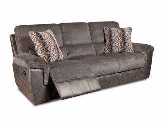 Monroe - Smoke Reclining Sofa