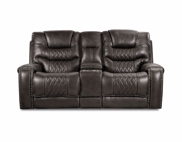 Picture of Desert - Eclipse Reclining Console Loveseat