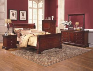 Versaille Queen Sleigh Bed Kimbrell S Furniture