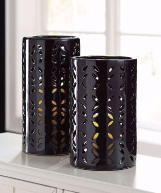 Picture of Mizuki Black 2PC Vase Set