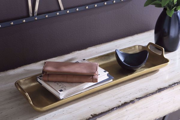 Picture of Posy Gold Tray