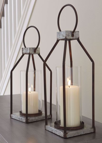 Picture of Diedrick 2PC Lantern Set