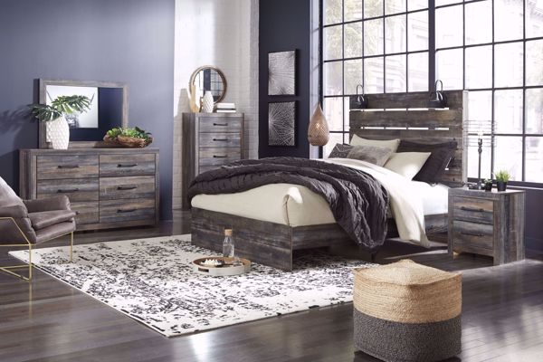 Picture of Drystan - Queen Panel Bed