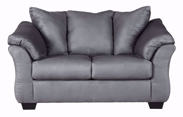 Picture of Darcy - Steel Loveseat