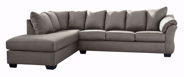 Picture of Darcy - Cobblestone RAF 2PC Sectional