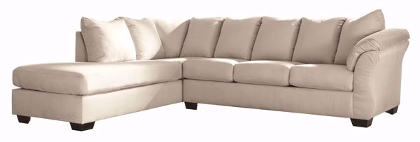 Picture of Darcy - Stone RAF 2PC Sectional