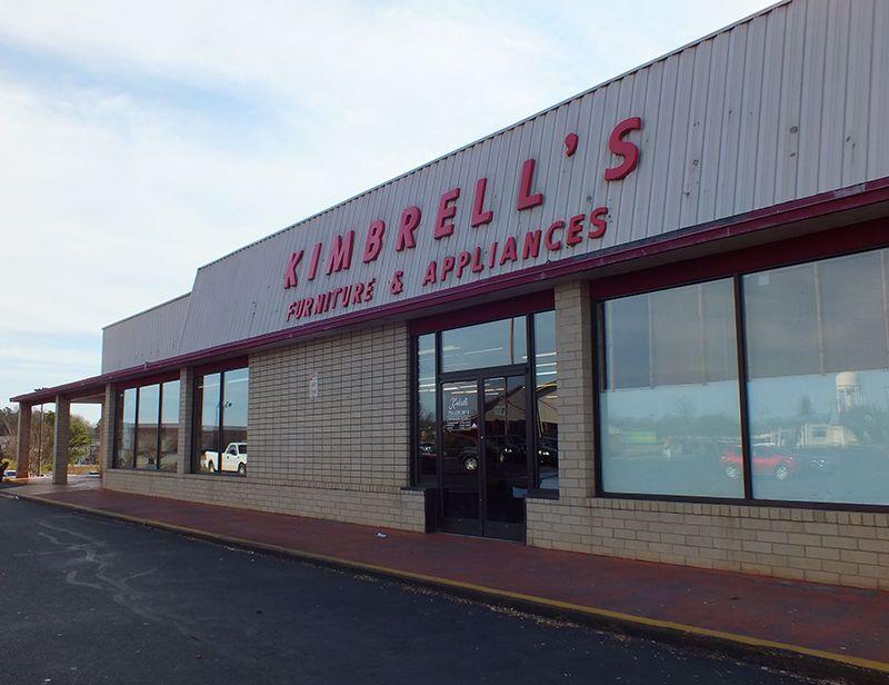 Entrance to Kimbrells in Salisbury, NC