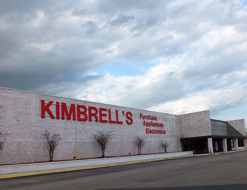 Entrance to Kimbrells in West Columbia, SC