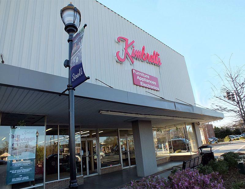 Entrance to Kimbrells in Fountain Inn, SC