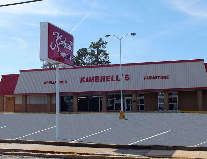 Entrance to Kimbrells in Elberton, GA