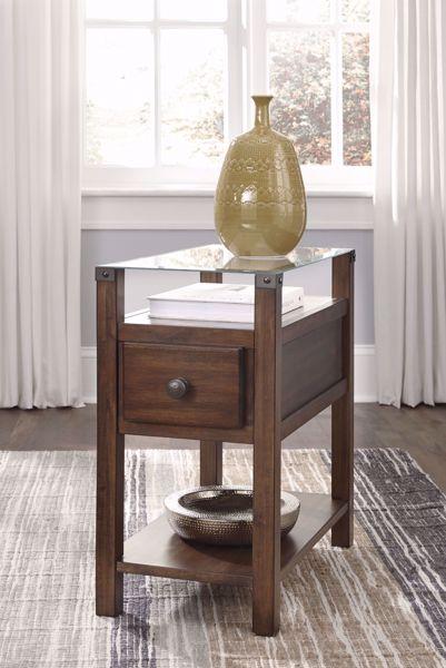 Picture of Diamenton - Dark Brown Chariside Table
