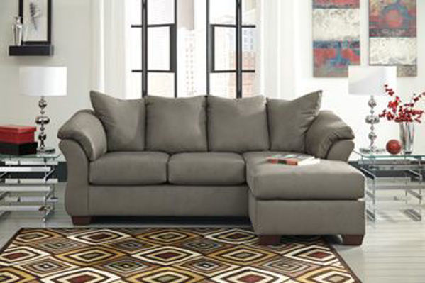 Picture of Darcy - Cobblestone Sofa Chaise