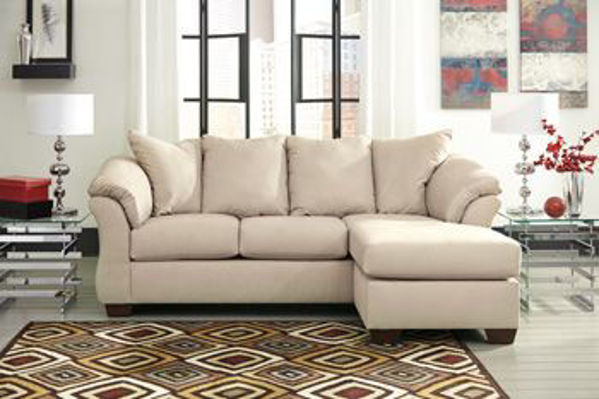 Picture of Darcy - Stone Sofa Chaise