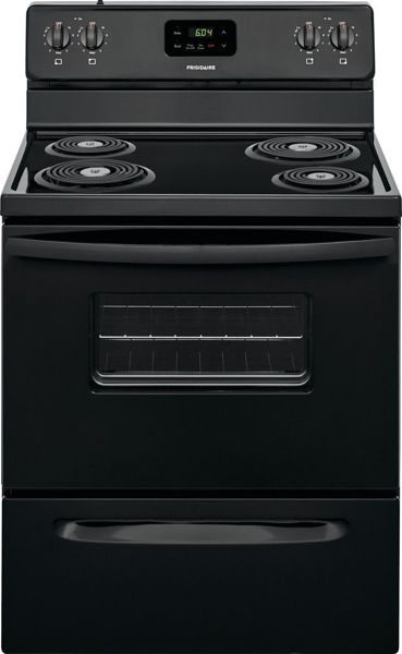 Picture of 30in Black Electric Range