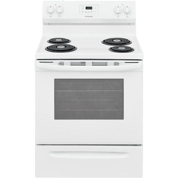Picture of 30in White Electric Range