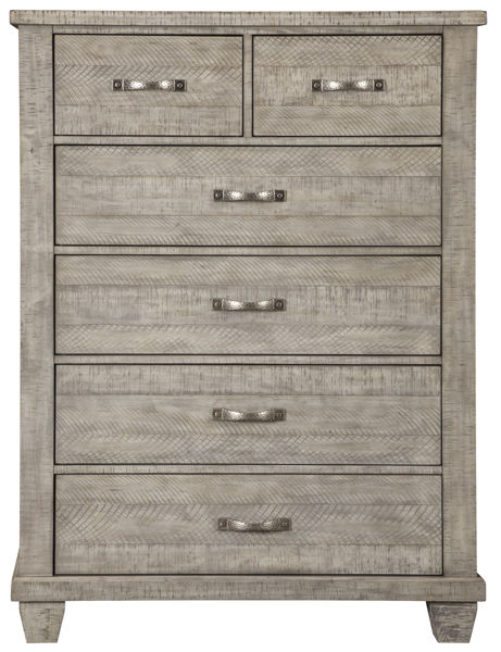 Picture of Naydell Gray 5 Drawer Chest