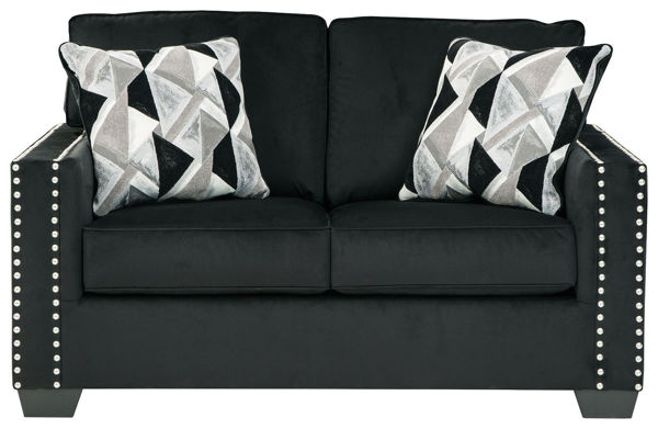 Picture of Gleston - Onyx Loveseat